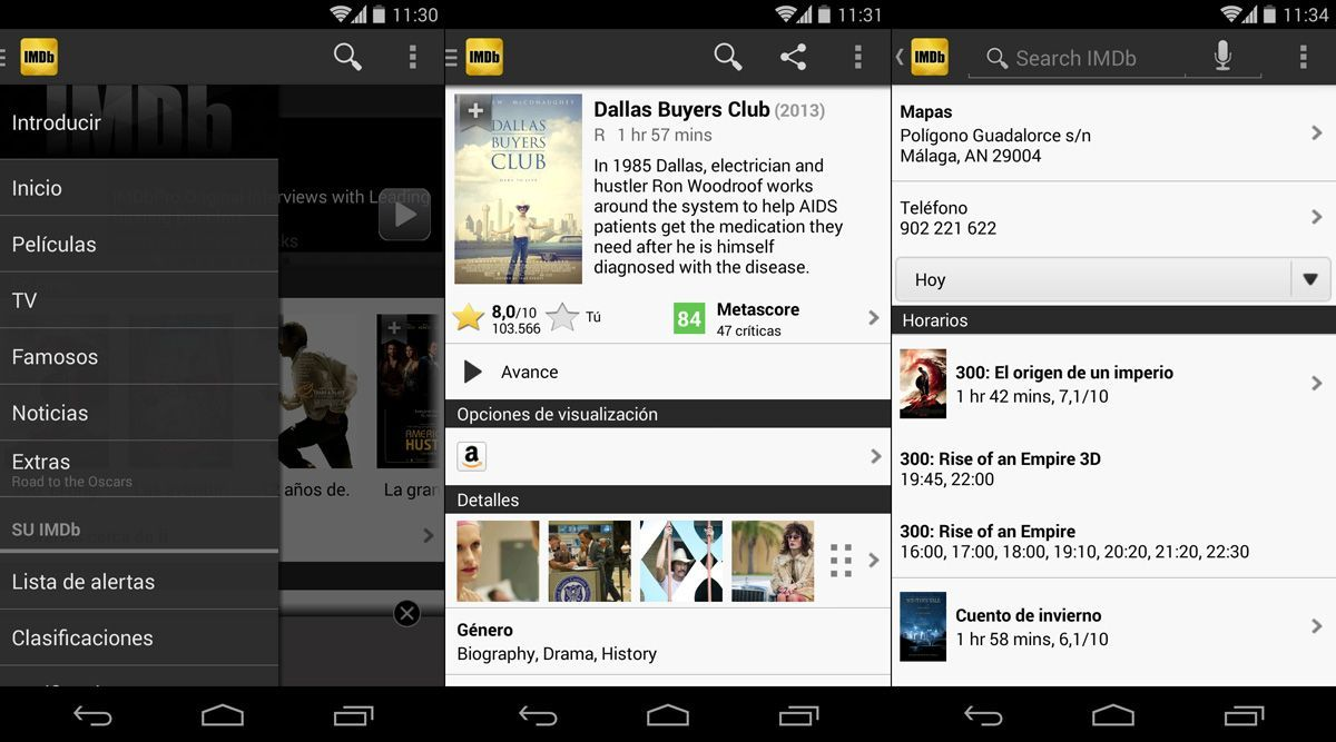 IMDB-Android-screenshot-1