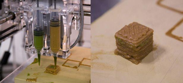 Impresora 3D comida