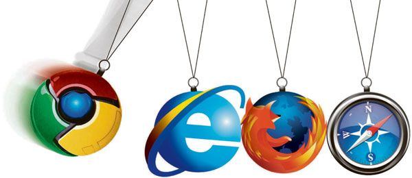 Internet Explorer, Chrome o Mozilla