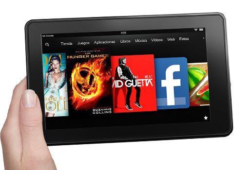 Kindle Fire1 Amazon presenta su nueva gama de productos Kindle