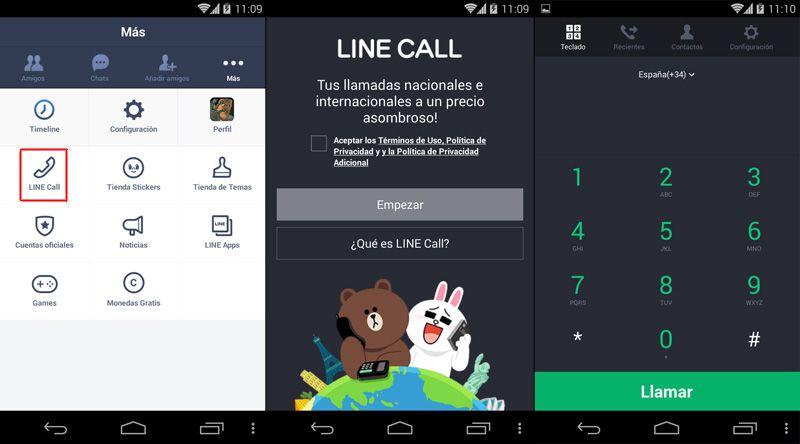 LINE-llamadas-Android