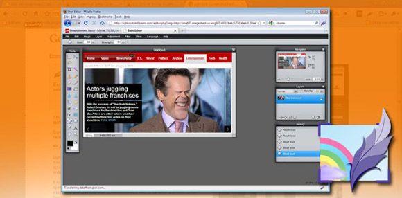 Lightshot captura Diferentes opciones para realizar capturas de pantalla