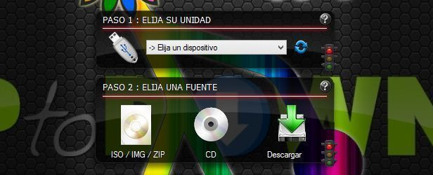Linuxlive usb creator screenshot 1
