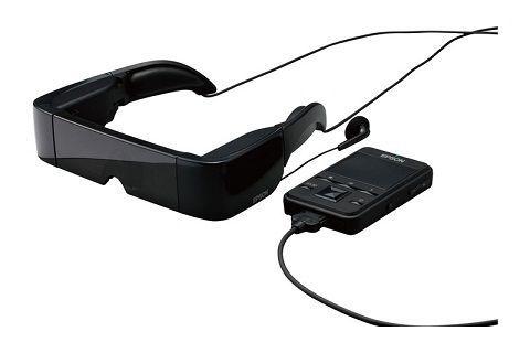 Los Moverio BT-100, la primera generación de anteojos multimedia