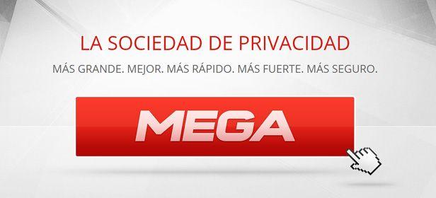 MEGA sociedad de privacidad cabecera Ya está aquí MEGA, el sucesor de Megaupload