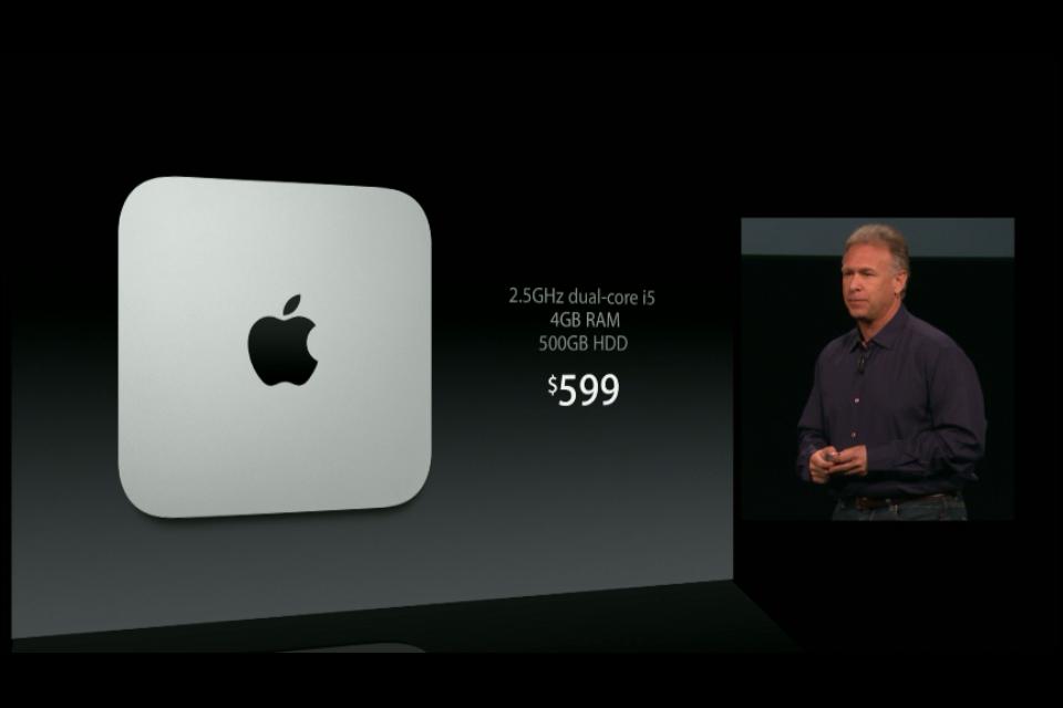 Mac Mini 1 Apple presenta su nueva gama de productos