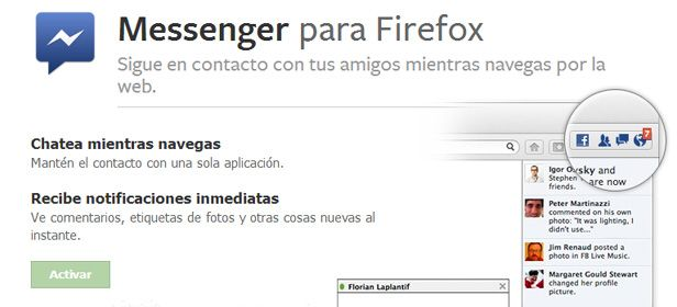 Messenger Facebook Messenger for Firefox is now available