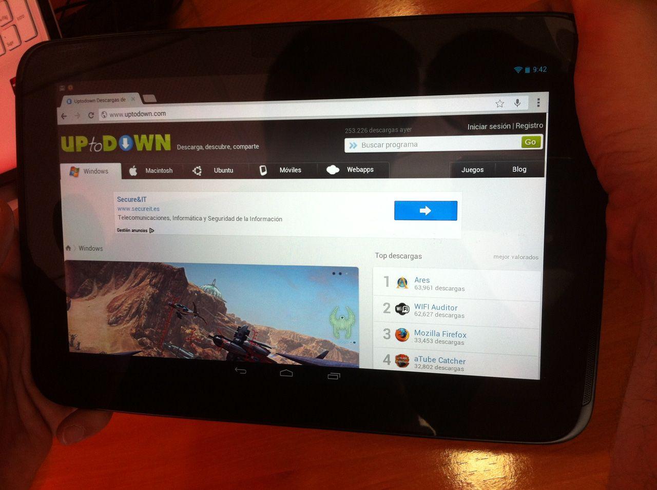 Nexus 10 uptodown Todo sobre Google Nexus 10