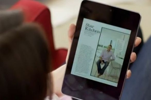 Nexus 7, la tablet de Google presentada oficialmente