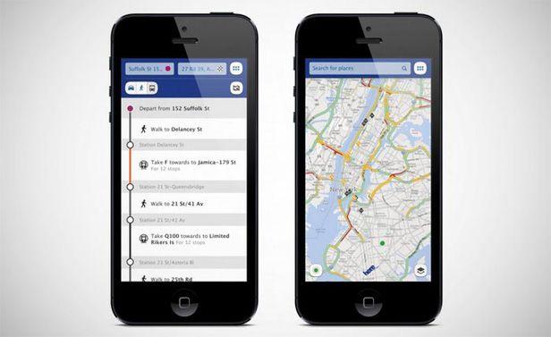Nokia HERE maps screens Nokia lanza sus HERE Maps sumándose a la guerra entre Google y Apple