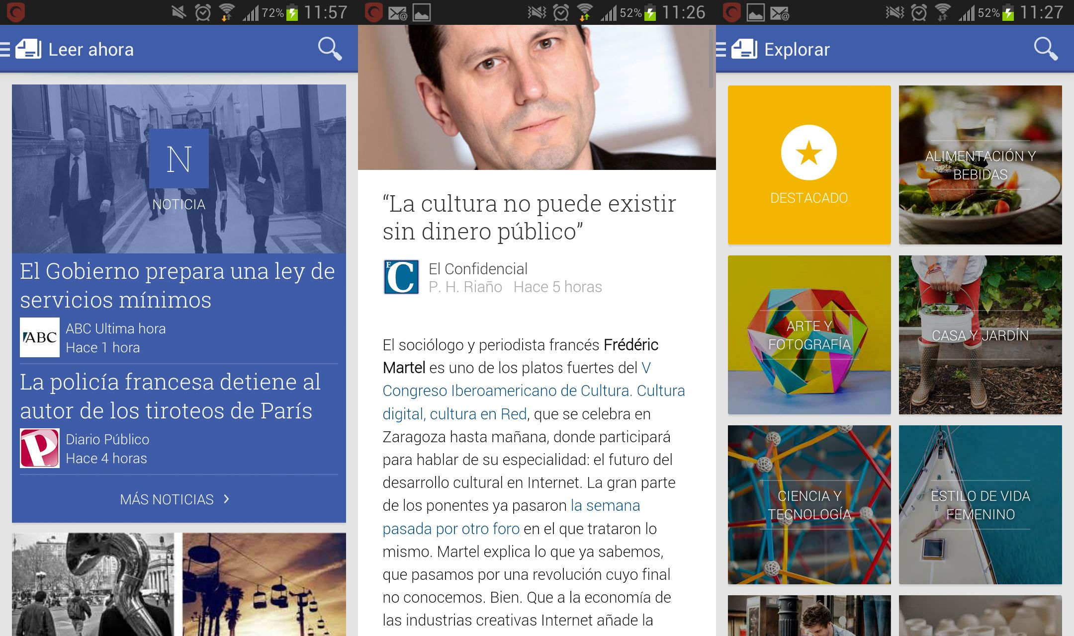 Noticias Google Play Newsstand