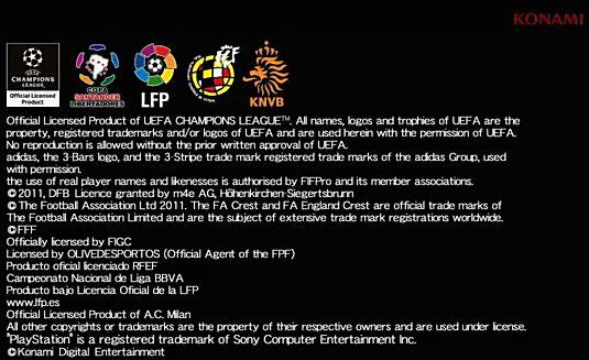 PES 2012 Licencia LFP PES 2012 Vs FIFA 12: Tráilers de la GamesCom