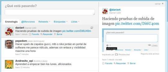 Pantallazo 2 Subir imágenes a Twitter: ahora más fácil que nunca