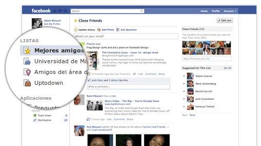Pantallazo 4 Cómo funcionan las listas inteligentes de Facebook