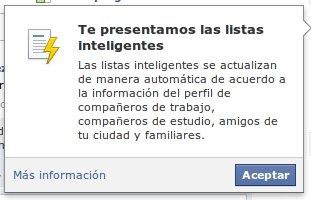 Pantallazo2 Cómo funcionan las listas inteligentes de Facebook