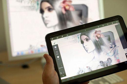 Photoshop Touch, la versión del famoso editor de imágenes para las tabletas