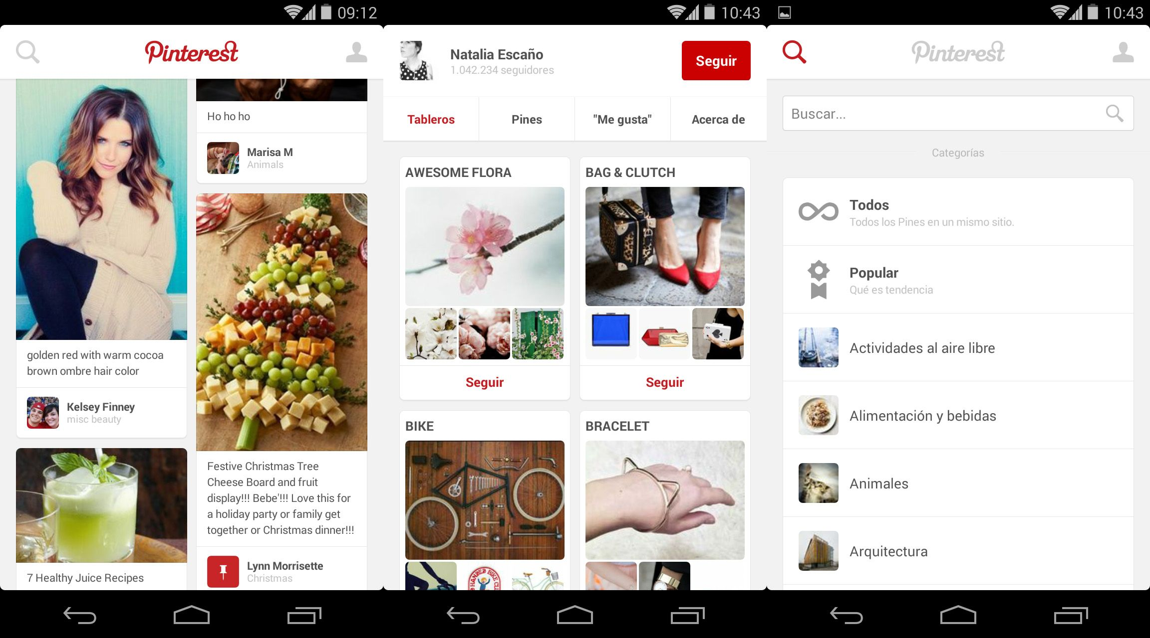 Pinterest-screenshots