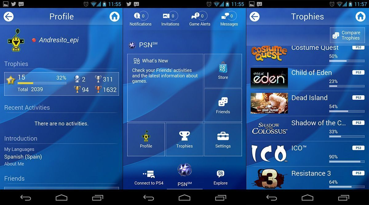 Playstation-smartphone-screenshots