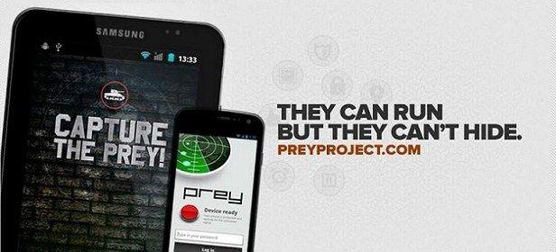 Prey, programa antirrobo