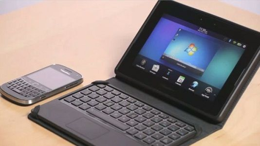RIM presenta su BlackBerry Mini Keyboard