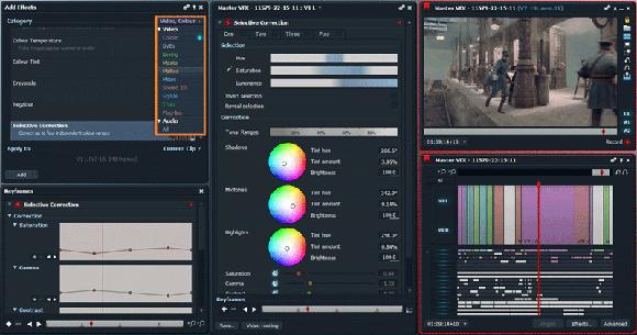 Realtime FX Lightworks, un potente editor de vídeo Open Source