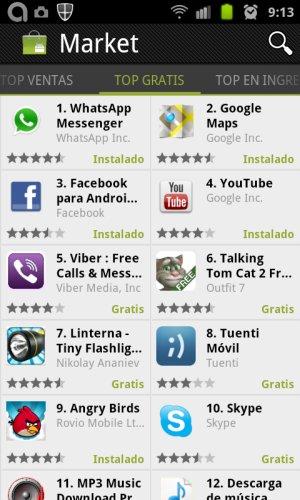SC20110926 091326 Android Market empieza a actualizarse de forma masiva