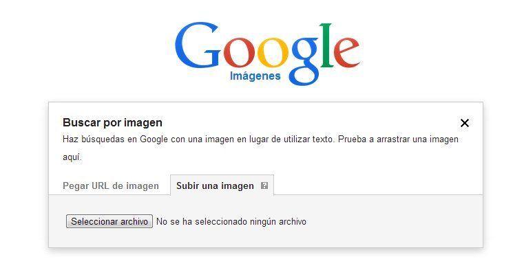 Buscar por imagen google