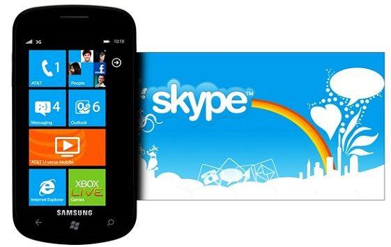 Skype 1.0 para Windows Phone, versión oficial