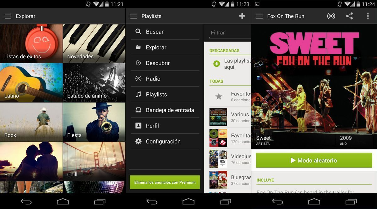 Spotify-web-android