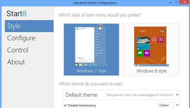 Start8 menu inicio windows 8 Añade el desaparecido botón de inicio a Windows 8