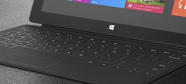 Surface teclado novedades Surface Touch Cover al detalle, ultrafino y tan rápido como un portatil