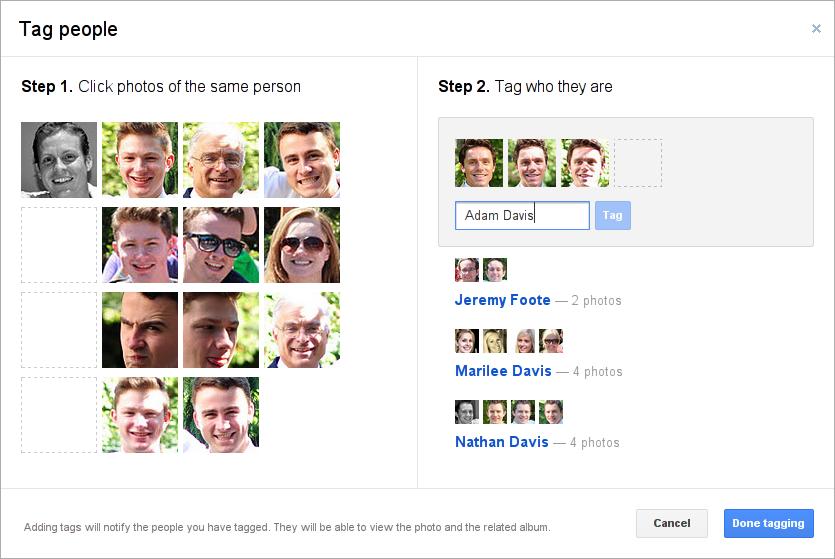 Tagging1 Google+ sigue mejorando su red social añadiendo tendencias y búsqueda avanzada