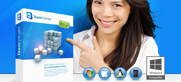 TeamViewer cabecera New version of TeamViewer and support for Windows 8 RT