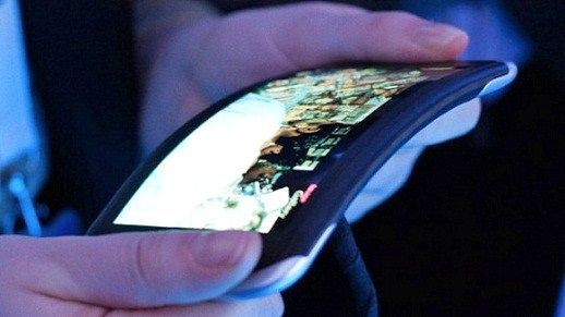 Teléfono móvil flexible de Nokia