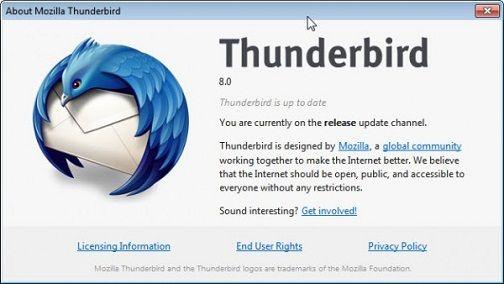 Thunderbird 8