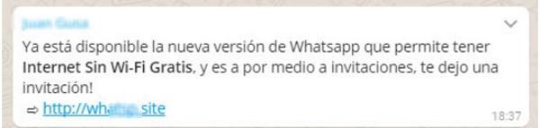 Timo whatsapp wifi 2 Cinco estafas de WhatsApp en las que no debes caer