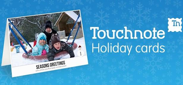 Touchnote Christmas edition Envia tus felicitaciones navideñas con estas aplicaciones para Android