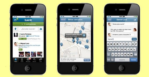Tuenti Social Messenger para iPhone