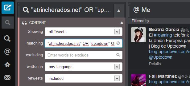 Tutorial Tweetdeck screenshot 1