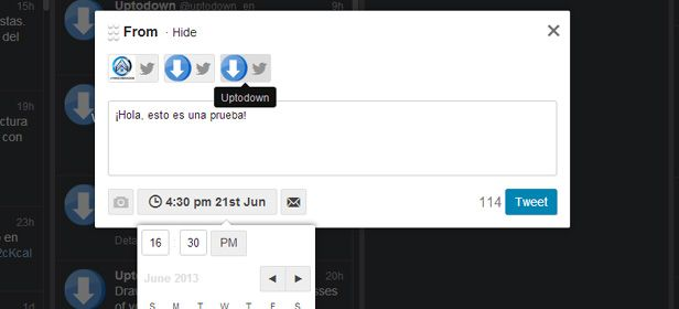 Tutorial Tweetdeck screenshot 2