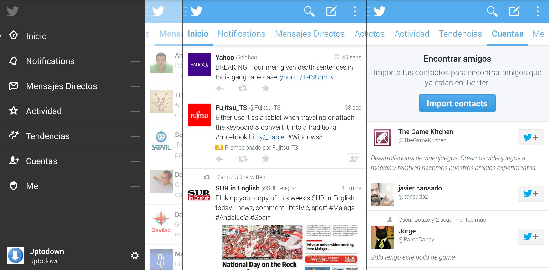 Twitter 5 Android beta screenshots