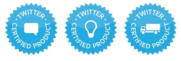 Twitter certified Program1 Twitter limita el uso de su API en otros programas