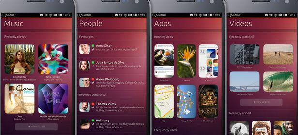 Ubuntu OS smartphone cabecera