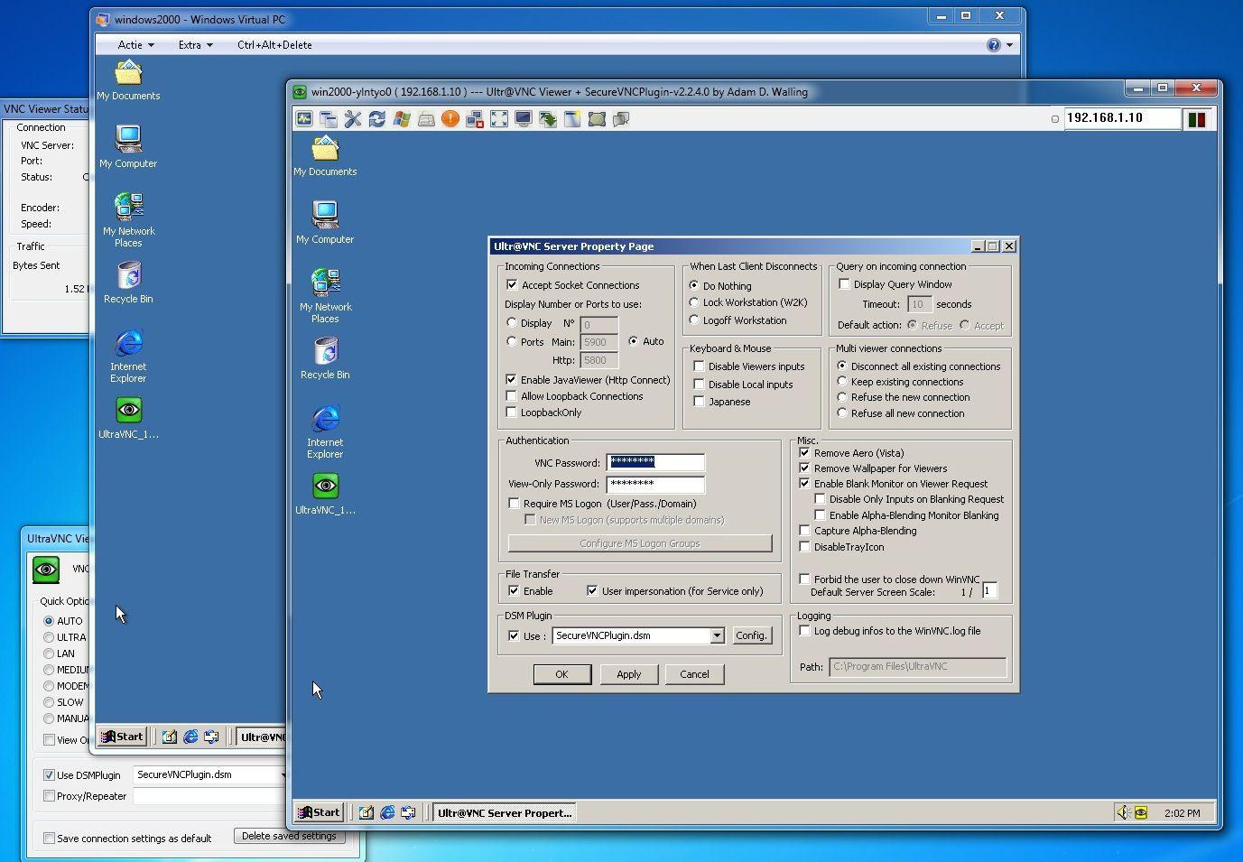 UltraVNC-screenshot