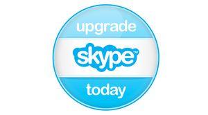 UpgradeSkype Skype explica las ventajas de actualizar la aplicación