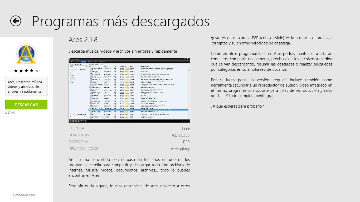 Uptodown Windows 8 2 Uptodown ya tiene aplicación para Windows 8