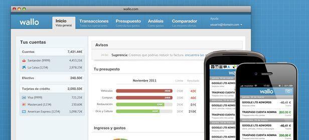 Wallo cabecera Wallo, una gran herramienta para gestionar nuestra contabilidad personal