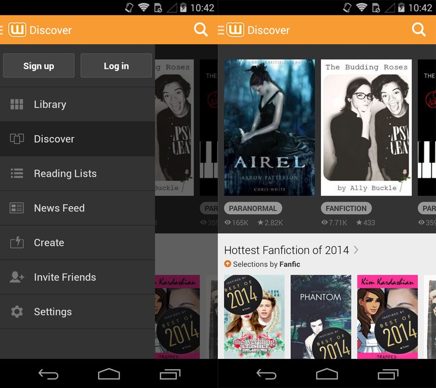 Wattpad Read thousands of books and share your progress with friends