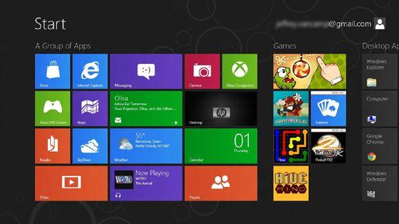 Windows 8 escritorio Windows 8 y el tablet Surface llegarán a finales de mes
