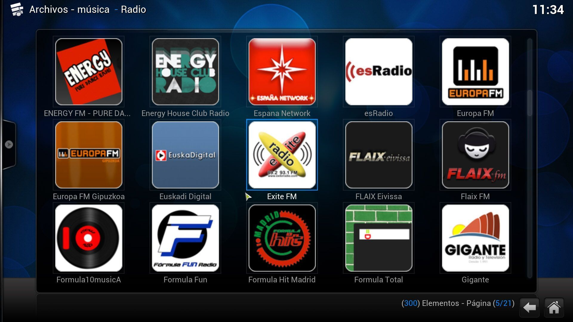 XBMC-radio